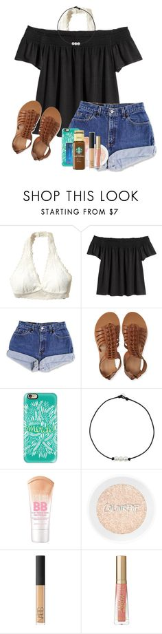 """""""I am sooooo tired"""" by rachelxchaney ❤ liked on Polyvore featuring Hollister Co., Aéropostale, Casetify, Maybelline, NARS Cosmetics and Too Faced Cosmetics"""