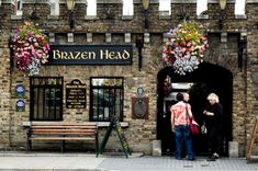 The Brazen Head is officially Ireland's oldest pub, dating back to 1198. I will definitely have to go here!