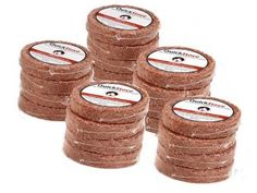 Great idea for a project - parafin and sawdust Waterproof Survival Fuel Disks - Pack of 20 - 10 Hour Burn Time Total - Emergency Camp Stove Wood & Parafin Quick Stove Refills - Great Addition To Disaster Prepper Food Supply Legacy Premium Food Storage Emergency Preparedness Food Storage, Prepper Food, Cast Iron Cooking, Camping Stove, Fire Starters, Cooking Tools, Helpful Hints, Wax, Survival