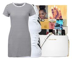 """""""sundress season"""" by fashionweeklyneeds ❤ liked on Polyvore featuring Michael Kors and adidas"""