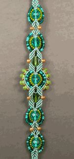Description: Learn how you can transform the macramé techniques of the 1960s into exceptional jewelry for today. In this comprehensive workshop, Joan will introduce you to the materials, basic knots, and essential techniques you'll need to make beautiful micro-macramé jewelry. First, you'll be guided through a series of practice samplers to help you gain proficiency with the knots. Then, you'll work on an elegant bracelet that brings the techniques together and shows you how to incorporate be...