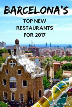 Barcelona's Top New Restaurants For 2017: