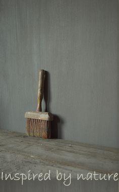 'Mooie textuur, maar té groen'  Love the texture on the wall