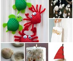 Wonderful Shell Craft Ideas for you.Turn your summer keepsakes into wonderful shell diys.Here is a great set of shell DIYs you simply have to take a look at