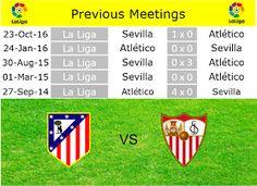 Café y Fútbol: Previous Atlético de Madrid vs Sevilla