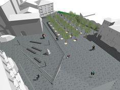 Cardona city center. Q d'ARQUITECTURA. Miquel Turne / Jordi Grane Telf: +34 654.065.999 www.qdarquitectura.com