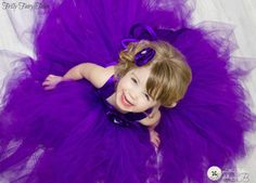 Royal+Purple+Flower+Girl+Dress+by+FrillyFairyTales+on+Etsy,+$95.00
