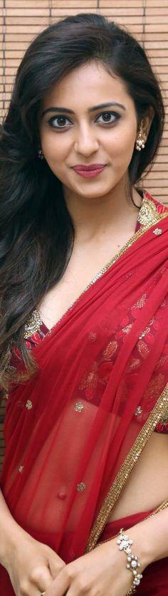Rakul Preet Singh Hot in Red Saree Latest Photos HD Stills Indian Film Actress, South Indian Actress, Indian Actresses, Tamil Actress, Beautiful Bollywood Actress, Beautiful Indian Actress, Rakul Preet Singh Saree, Saree Navel, Saree Models