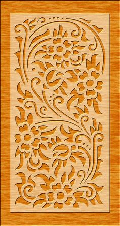 Laser Cut Screens, Laser Cut Panels, Wood Panel Walls, Panel Wall Art, Cnc Cutting Design, Cnc Plans, Laser Cut Stencils, Stencil Decor, Door Gate Design