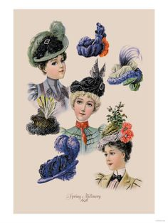 2. Take a course in Millinery.