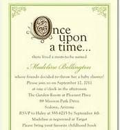 Fairy Tale Filigree wedding invitation Rapunzel weddinginvite