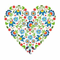 ludowe serce z Kaszub, autor: bridzia2