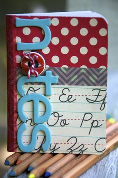 cute mini composition notebook