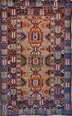 Rug Number: 603-720 Size: 3' X 6′3 Style: Tribal Type: Baluch Origin: Persian/Iran Age: 1980's Color: Multicolor Content: 100% Wool Construction: Hand Knotted