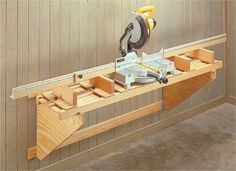 Portable Miter Saw Station | Woodsmith Plans