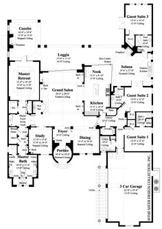 U Shape Floor Plan Ideas furthermore Home Plans Over 10000 Square Feet moreover Floor Plans additionally Home Floor Plans also Walk Out Basement Plans So Replica Houses 3ed332d3fd92fa27. on one story luxury floor plans