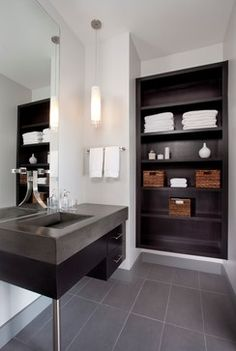 Decatur Loft Renovation - contemporary - bathroom - atlanta - Renewal Design-Build