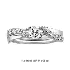 Best Fred Meyer Jewelers ct tw Diamond Engagement Ring Wrap wedding