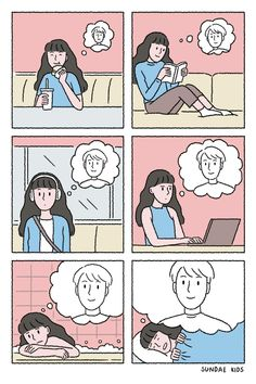 Couple Illustration Cute We Heart It Cute Couple Comics, Couples Comics, Cute Couple Art, Couple Cartoon, Cute Comics, Love Couple, Cute Couples, Anime Couples, Witty Comics