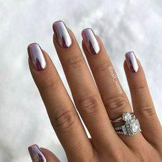Les ongles chromés  @nails_sunny.
