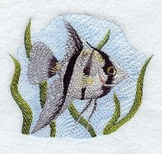 Machine Embroidery Designs at Embroidery Library! - Aquarium Fish