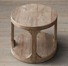 "Martens Round Side Table-- 20"" r x 26"" h"