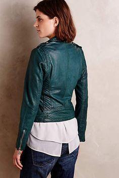 leather jacket layers