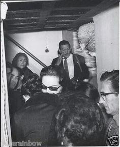 1957 ORIGINAL Photo Actress MARIA FELIX At Painter DIEGO RIVERA Funeral Mexico (12/20/2012)