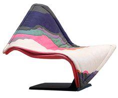 """braceli: """" Flying Carpet Chair, Simon Desanta for Rosenthal"""