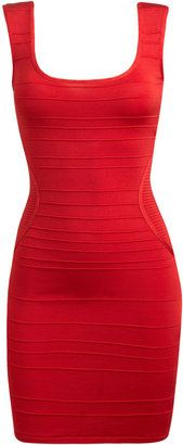 ShopStyle: Arden B Keyhole Back Bandage Dress