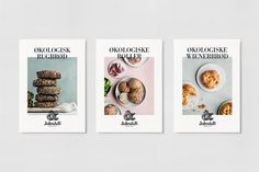 Brand Identity and packaging for Danish bakery brand Jalm & B by Kontrapunkt