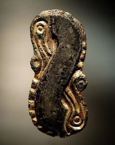 gilt over base metal, early medival British, Dirk Kennis Collection Ottonian, Merovingian, Antwerp Belgium, Rings N Things, Ancient Vikings, Anglo Saxon, Viking Jewelry, Medieval Art, Rings And Things