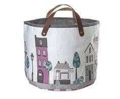 Village girl storage basket in Tutete.com