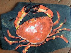 Le Crabe rouge