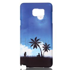 Relief Painting Hard PC Back Case for Samsung Galaxy Note 5 N9200 - Natural Scenery