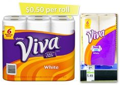 Viva-Paper-Towels- Catalina deal