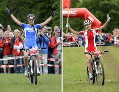 Eva Lechner Maja Wloszczowska Mtb, Cycling, Bicycle, Biking, Bicycle Kick, Bicycling, Bike, Bmx, Cruiser Bicycle