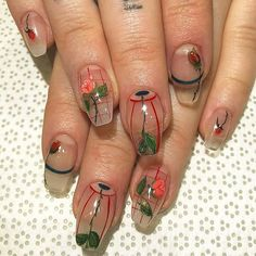 Nail art is a very popular trend these days and every woman you meet seems to have beautiful nails. It used to be that women would just go get a manicure or pedicure to get their nails trimmed and shaped with just a few coats of plain nail polish. Aycrlic Nails, Diy Nails, Cute Nails, Pretty Nails, Hair And Nails, Nail Design Stiletto, Nail Design Glitter, Minimalist Nails, Nail Swag