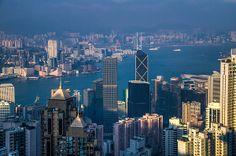 Cityscape view of Hong Kong