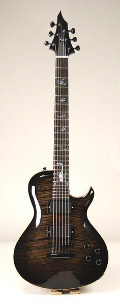 Abyss Custom Guitars – Black Scorpion - Single Cutaway Electric Guitar