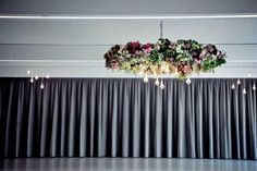 Ceiling installation over the dance floor at Carousel, Albert Park Lake by the Style co