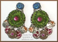 <a href=http://www.artfulsoul.com/store/infoab117215.html target=window2>Ayala Bar Cocoa Berry Earrings</a>