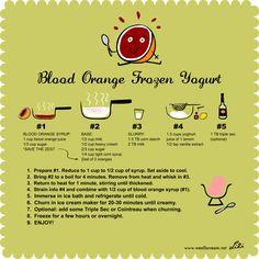 --blood orange frozen yogurt