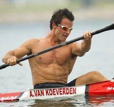 Adam Van Koeverden - Canadian Olympic Kayaker. He'll be kayaking soon YAYAY