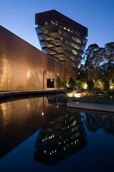 de Young Museum - a beautiful museum only a few hops, skips, and jumps away from USF. First Tuesday of every month? FREE.