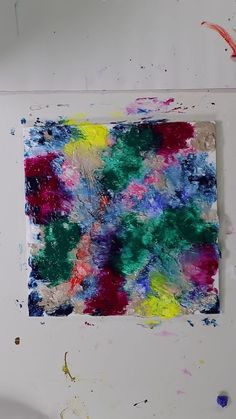 Simple Canvas Paintings, Diy Canvas Art, Canvas Ideas, Canvas Painting Tutorials, Painting Videos, Bright Abstract Art, Abstract Painting Easy, Purple Painting, Painting Art