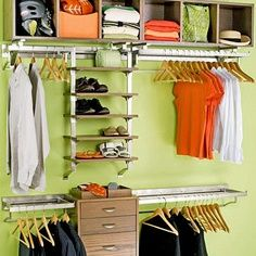 Walk-In Closet Organization Ideas | Walk In Closet Ideas
