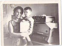 Фото СССР.Радио.Радиола.Проигрыватель.Дети.Ленинград.Комната