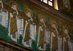 """Sant'Apollinare, Ravenna - """"The immaculate bursting mosaics of Ravenna"""" by @Kate McCulley"""