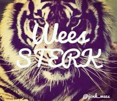 Wees sterk.. ×× Afrikaans, Adidas Logo, Strong, Neon Signs, Logos, Logo